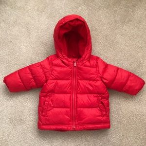 Old Navy | Toddler Hooded Puffer Jacket | 12-18 m